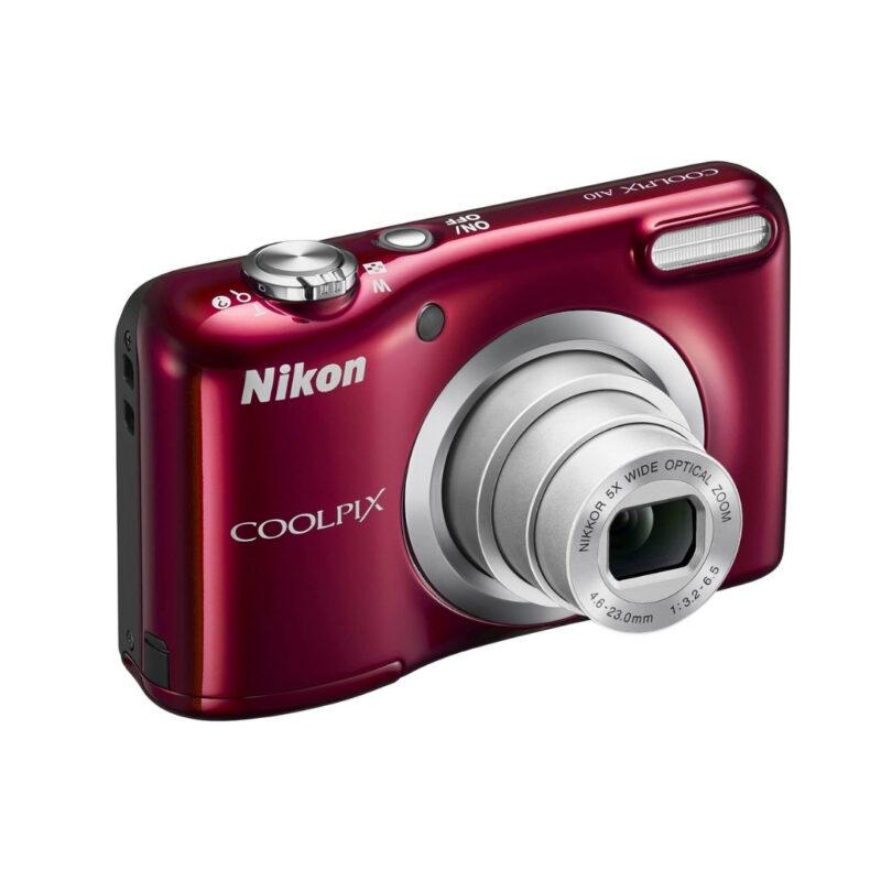 Cámara Nikon CoolPix A10 16.1 MP + funda