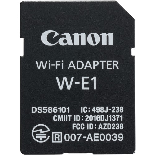 swiss pro adaptador canon wi fi w e1