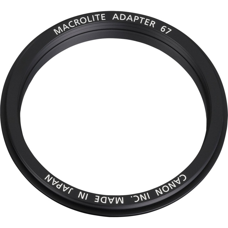 swiss pro adaptador macrolite canon 67