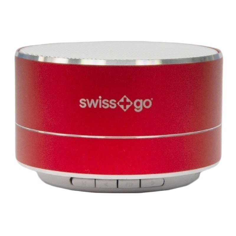 swiss pro altavoz metalico portatil bluetooth clio bt 001 2