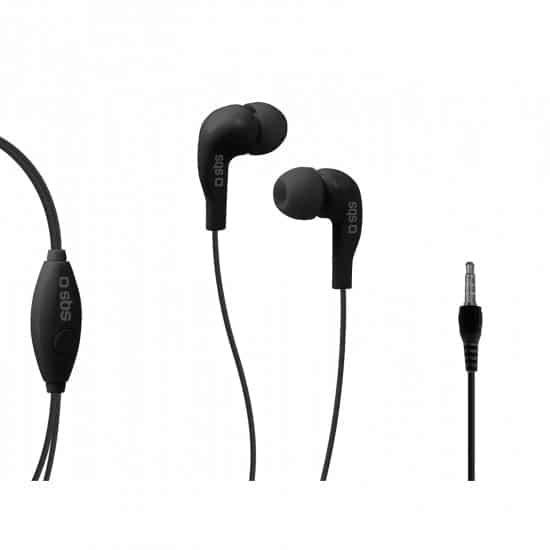 swiss pro auriculares in ear studio mix 10 jack 35 mm con microfono y tecla de respuesta 1