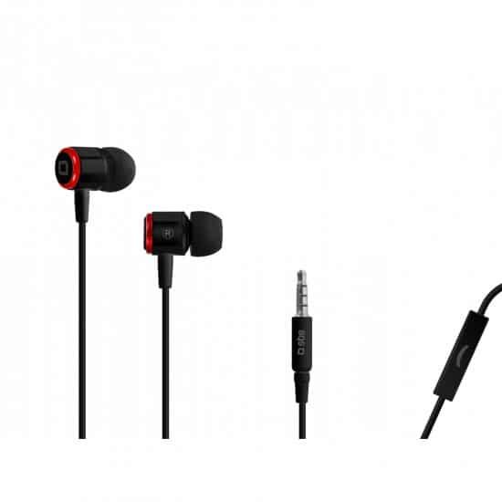 swiss pro auriculares in ear studio mix 40 jack 35 mm con microfono y tecla de respuesta 1