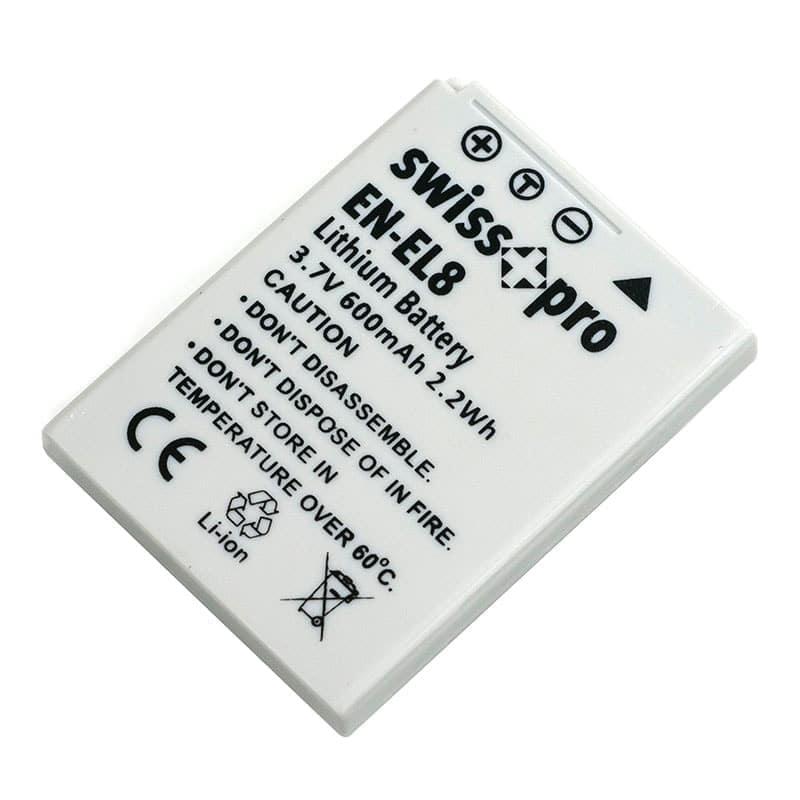 swiss pro bateria en el8