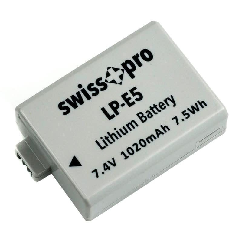 swiss pro bateria lp e5