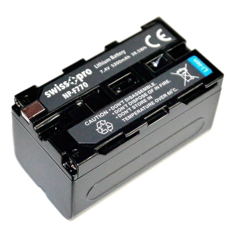 swiss pro bateria np f770