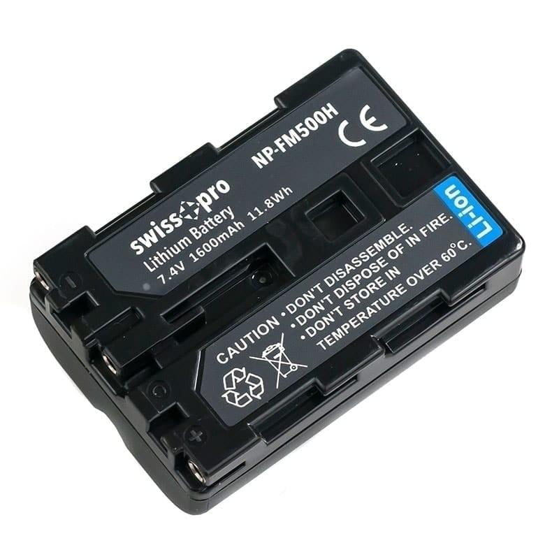 swiss pro bateria np fm500h