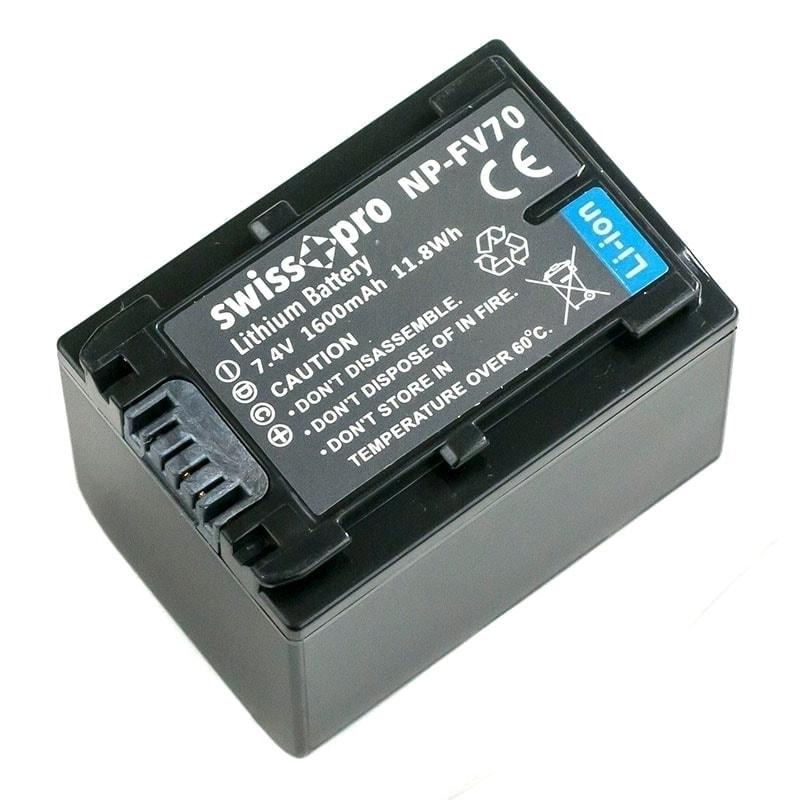 swiss pro bateria np fv70