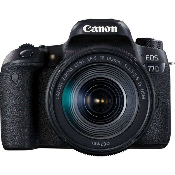 swiss pro camara canon eos 77d ef s 18 135 mm f35 56 is usm sku 1892c004