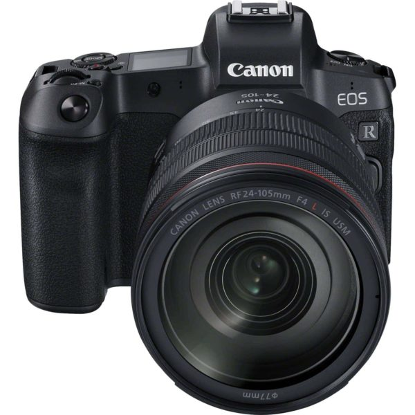 swiss pro camara canon eos r objetivo rf 24 105mm f4l is usm adaptador de montura ef eos r 1
