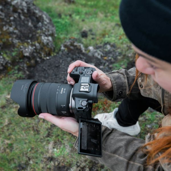 swiss pro camara canon eos r objetivo rf 24 105mm f4l is usm adaptador de montura ef eos r 12
