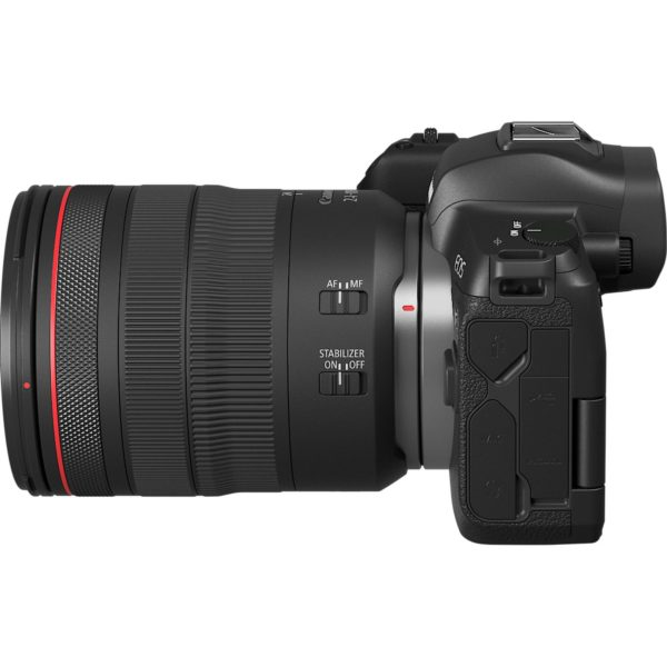 swiss pro camara canon eos r objetivo rf 24 105mm f4l is usm adaptador de montura ef eos r 6