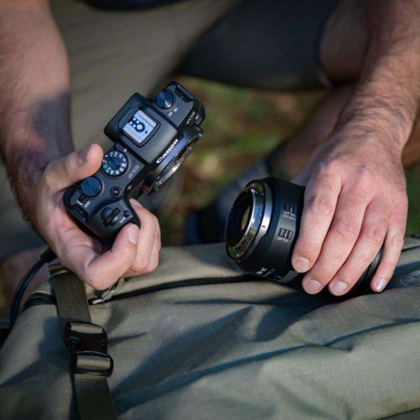 swiss pro camara canon eos rp adaptador de montura ef eos r 9
