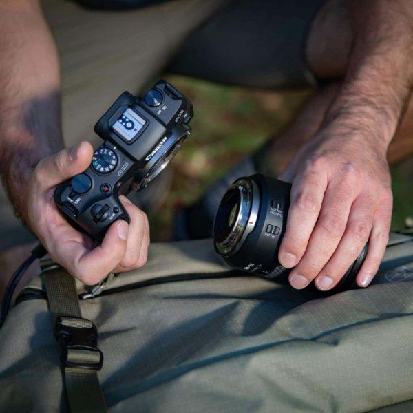 swiss pro camara canon eos rp objetivo rf 24 105mm f4l is usm adaptador de montura ef eos r 11