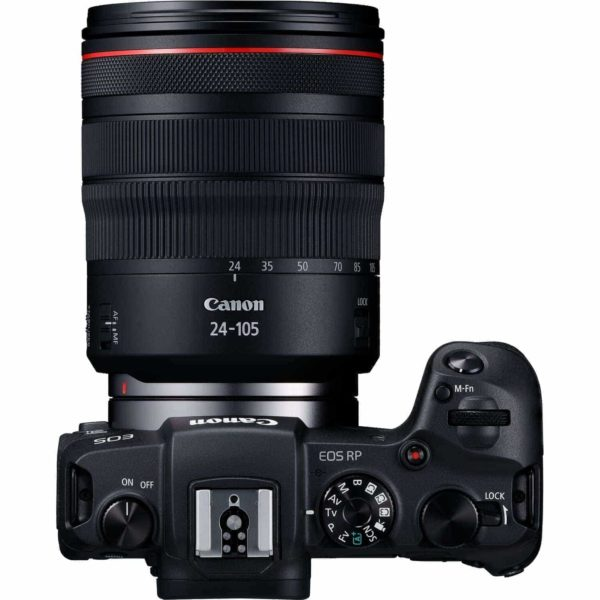 swiss pro camara canon eos rp objetivo rf 24 105mm f4l is usm adaptador de montura ef eos r 8