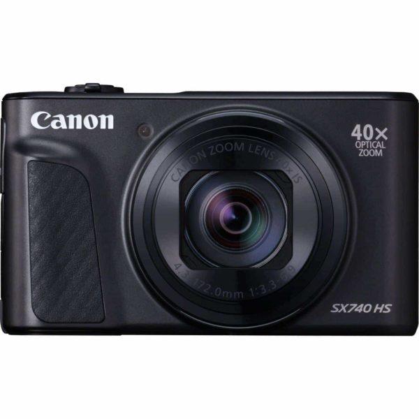 swiss pro camara canon powershot sx740 hs negro sku 2955c002