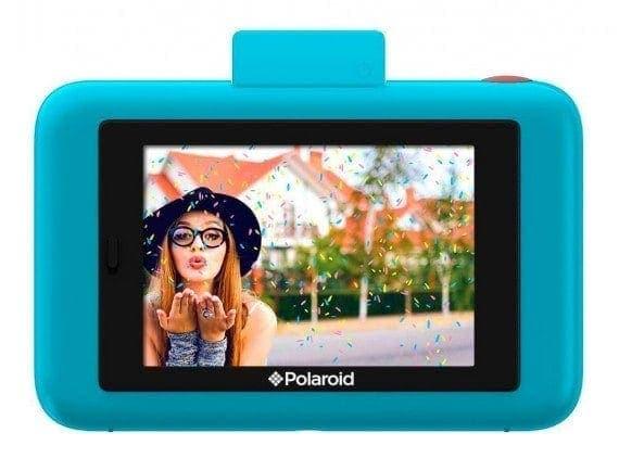 swiss pro camara instantanea polaroid snap touch azul 2