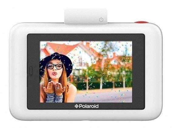 swiss pro camara instantanea polaroid snap touch blanco 2