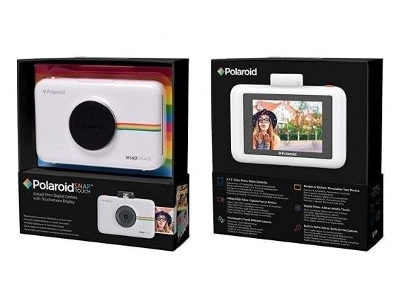 swiss pro camara instantanea polaroid snap touch blanco 5