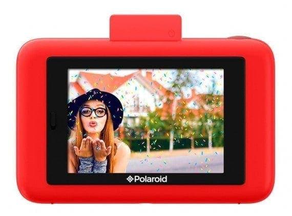 swiss pro camara instantanea polaroid snap touch rojo 2
