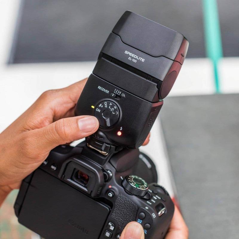 swiss pro flash canon speedlite el 100 11