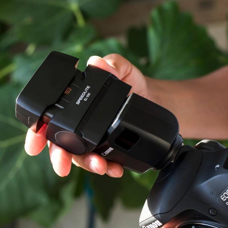 swiss pro flash canon speedlite el 100 12