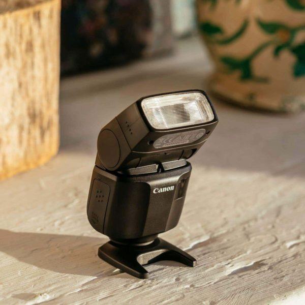 swiss pro flash canon speedlite el 100 9