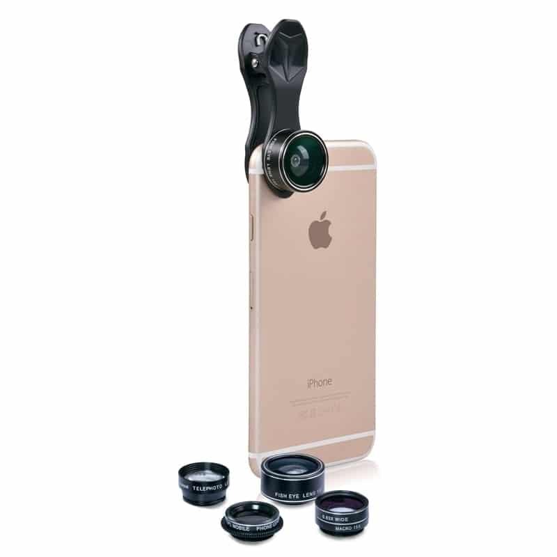swiss pro kit de lentes para smartphone 5 en 1