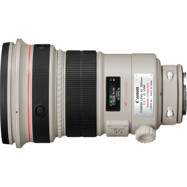 swiss pro objetivo canon ef 200mm f2l is usm 1