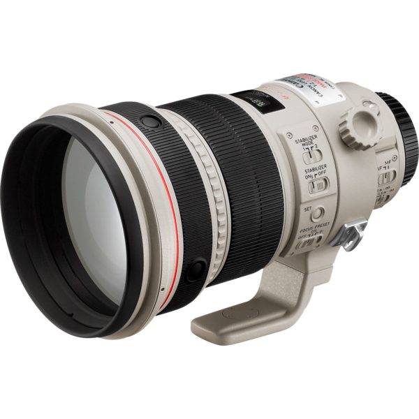 swiss pro objetivo canon ef 200mm f2l is usm 2