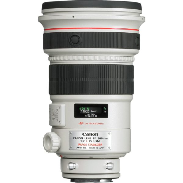 swiss pro objetivo canon ef 200mm f2l is usm