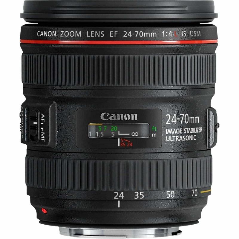 swiss pro objetivo canon ef 24 70 mm f4l is usm
