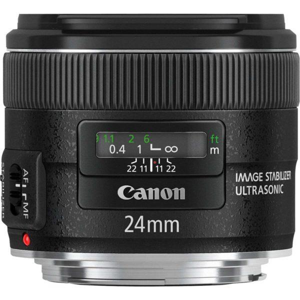 swiss pro objetivo canon ef 24mm f28 is usm