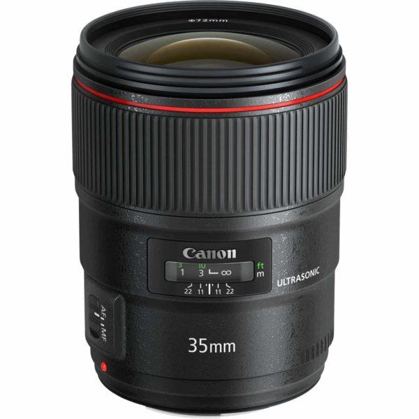 swiss pro objetivo canon ef 35 mm f14l ii usm 1