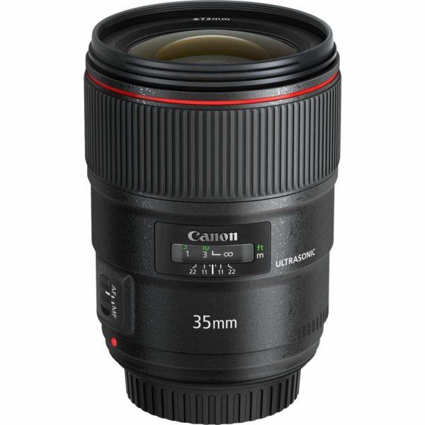 swiss pro objetivo canon ef 35 mm f14l ii usm 3