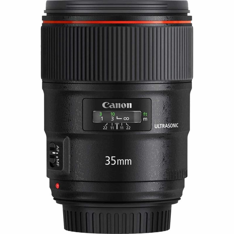 swiss pro objetivo canon ef 35 mm f14l ii usm 4