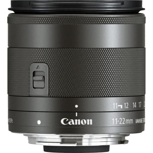 swiss pro objetivo canon ef m 11 22mm f4 56 is stm