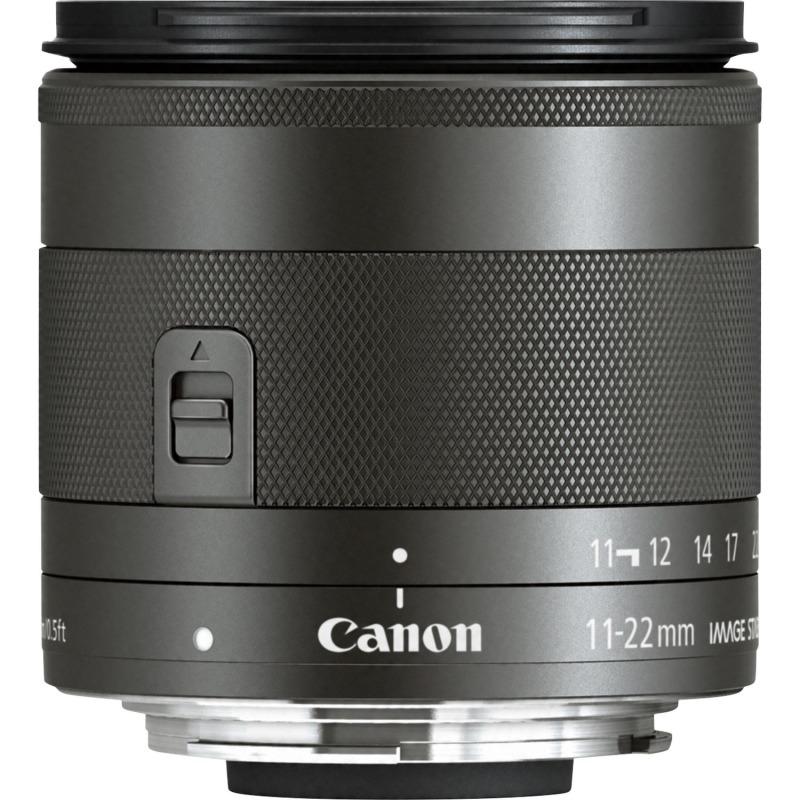 swiss pro objetivo canon ef m 11 22mm f4 56 is stm