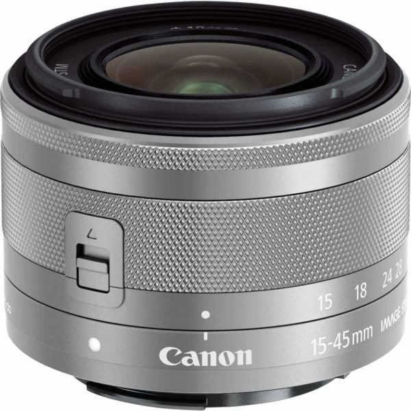 swiss pro objetivo canon ef m 15 45mm f35 63 is stm plata 1