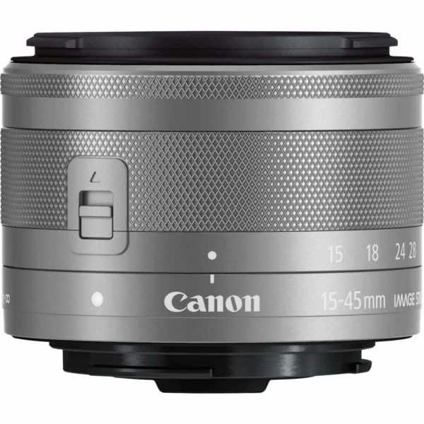 swiss pro objetivo canon ef m 15 45mm f35 63 is stm plata