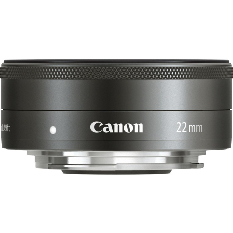 swiss pro objetivo canon ef m 22mm f2 stm