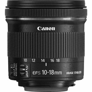 swiss pro objetivo canon ef s 10 18mm f45 56 is stm