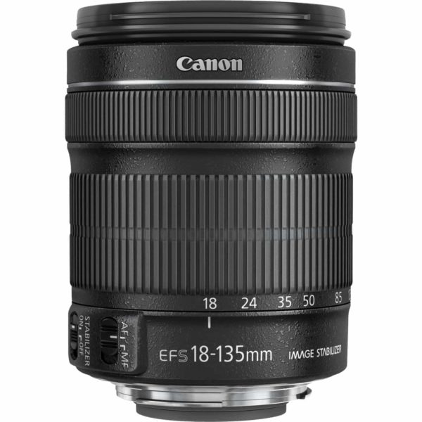 swiss pro objetivo canon ef s 18 135mm f35 56 is stm