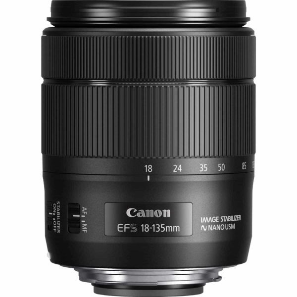 swiss pro objetivo canon ef s 18 135mm f35 56 is usm