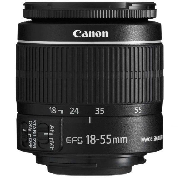 swiss pro objetivo canon ef s 18 55mm f35 56 is ii