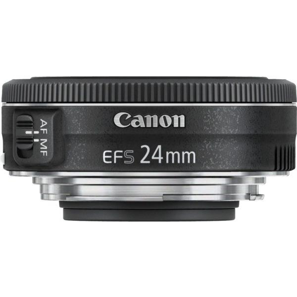 swiss pro objetivo canon ef s 24mm f28 stm