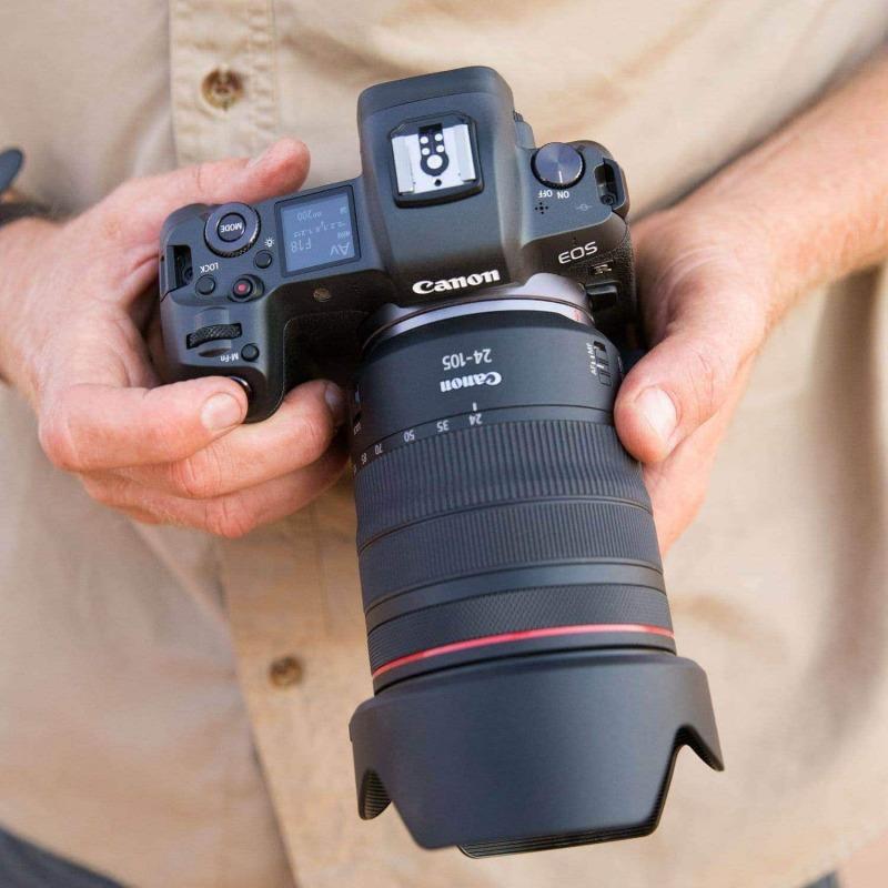 swiss pro objetivo canon rf 24 105mm f4l is usm 5