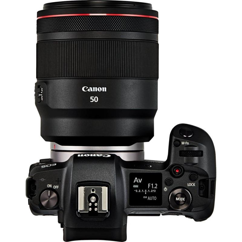 swiss pro objetivo canon rf 50mm f12l usm 2