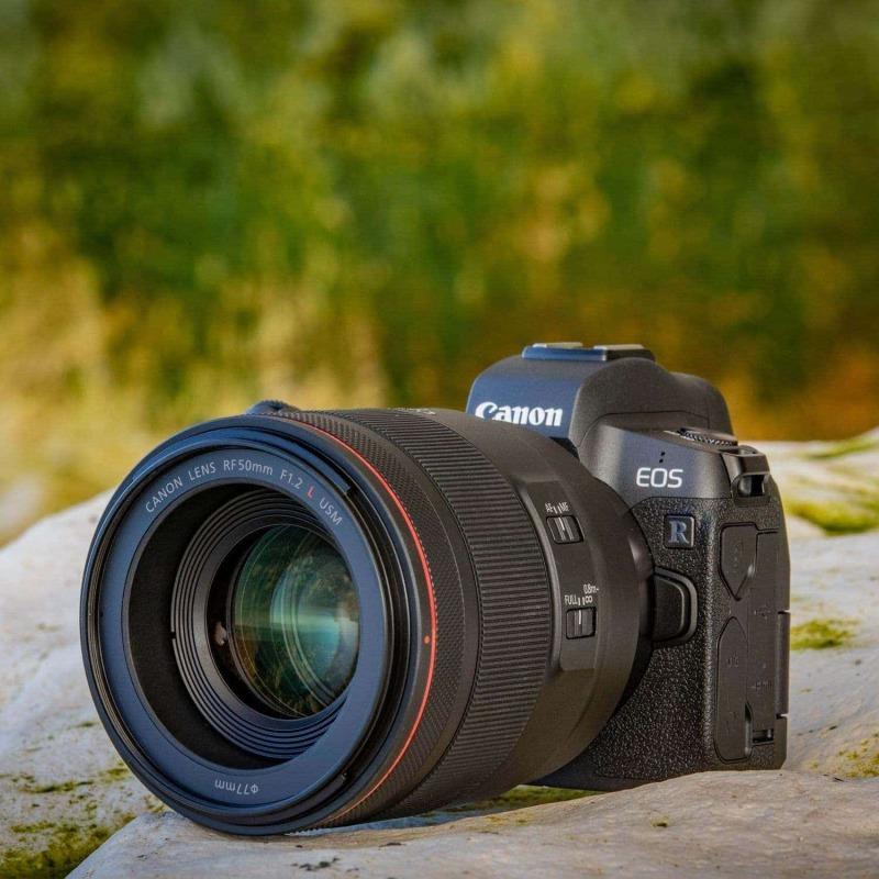swiss pro objetivo canon rf 50mm f12l usm 5