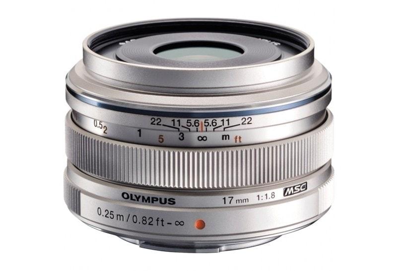 swiss pro objetivo olympus mzuiko 17mm f18 5