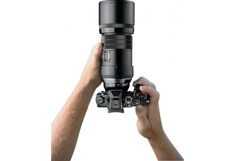swiss pro objetivo olympus mzuiko digital ed 300mm f4 is pro 3